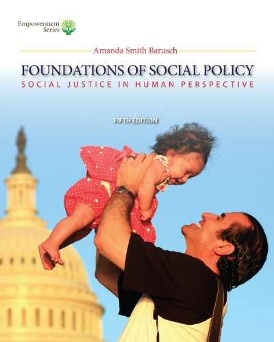 Download Brooks/Cole Empowerment Series: Foundations of Social Policy (with CourseMate Printed Access Card): Social Justice in Human Perspective Pdf
