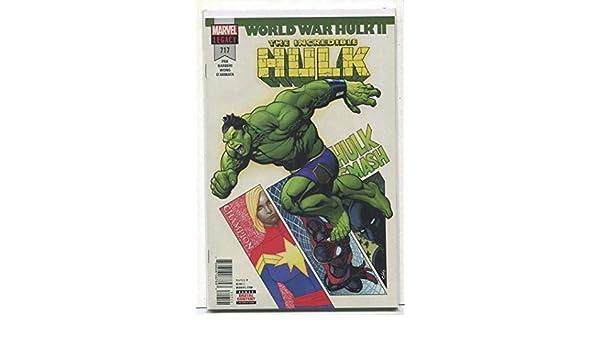 85f08282ab8cf4 Amazon.com  The Incredible Hulk  717 NM Legacy World War Hulk ll Marvel  Comics CBX20  Entertainment Collectibles
