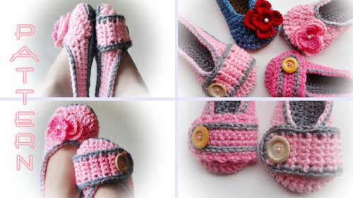 Sweet Dream Crochet Slippers Pattern: Easy Pattern