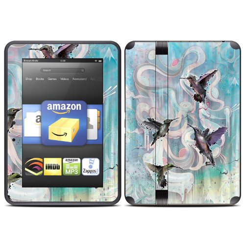 hummingbirds-design-protective-decal-skin-sticker-matte-satin-coating-for-amazon-kindle-fire-hd-7-in