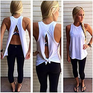 PERFURM Women Summer Vest Top Sleeveless Blouse Casual Tank Tops T-Shirt Valentines Day Present Couple Gift