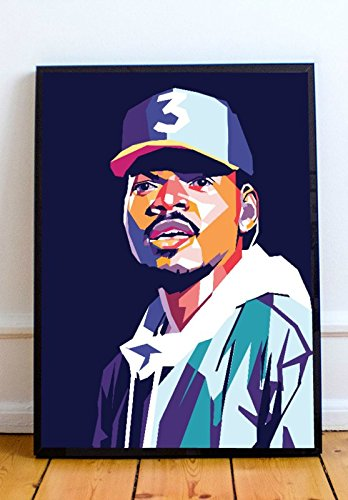 AAP Chance The Rapper Limited Poster Artwork - Professional