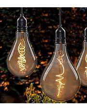 Hellum 524383 lampa wisząca LED z pilotem zdalnego sterowania, do wewnątrz i na zewnątrz, bezprzewodowa lampa wisząca, żarówka z baterią i timerem, na wesele, imprezę, kemping, festiwale, do szafy, piwnicy i na zewnątrz