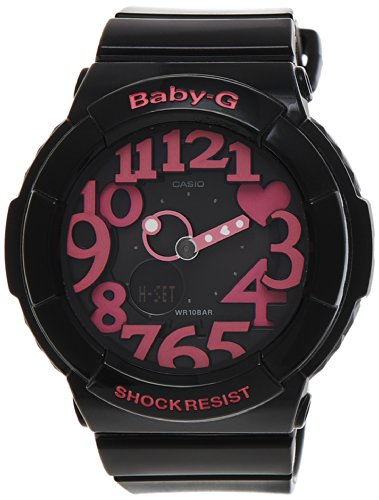 Casio Women's Baby-G BGA130-1B Black Resin Quartz Watch for sale  Delivered anywhere in Canada