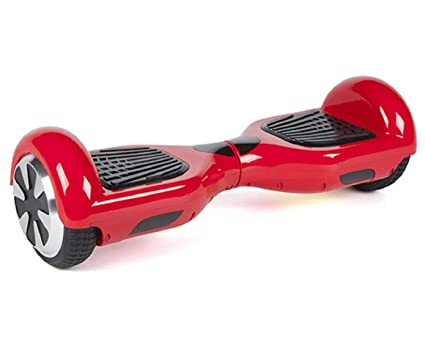 Amazoncom Hovers Hoverboard Red Safe Smart Botz Two Wheel Alien