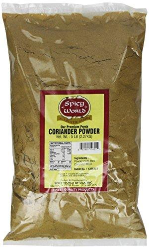 Spicy World Ground Coriander Powder Bulk, 5-Pounds