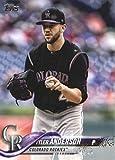 2018 Topps Baseball Series 2#668 Tyler Anderson Colorado Rockies Official MLB Trading Card