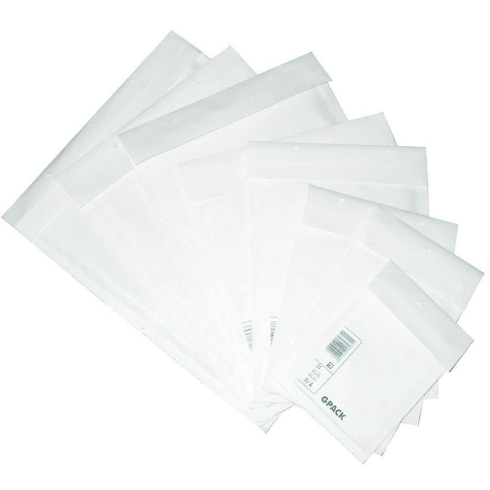 50 pi/èces Lot de 100 enveloppes rembourr/ées format c taille blanc 370 x 480 mm