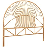 KOUBOO 1110062 Rattan Loop Headboard, California King, Natural