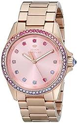 Juicy Couture Women's 1901207 Stella Analog Display Quartz Rose Gold Watch