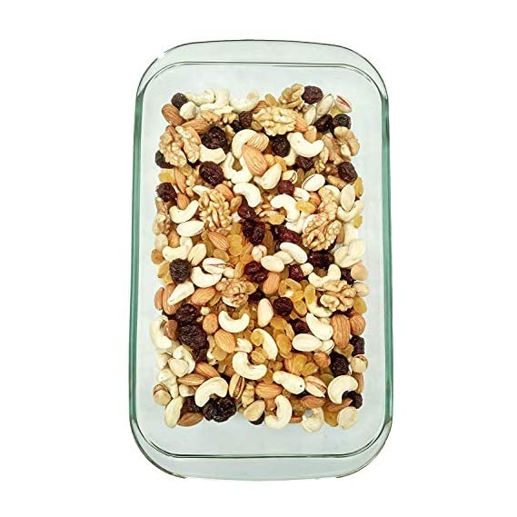 Dry Fruit Hub Healthy Nuts Mix 300gm, Dry Fruits Mixed (Cashew Kernels, Almonds, Pistachio Salted, Kishmish Raisins, Walnuts, Cranberry), Dry Fruits Combo Pack