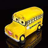 Amazlab Yellow School Bus Nursery Lamp Kids' Room Decoration