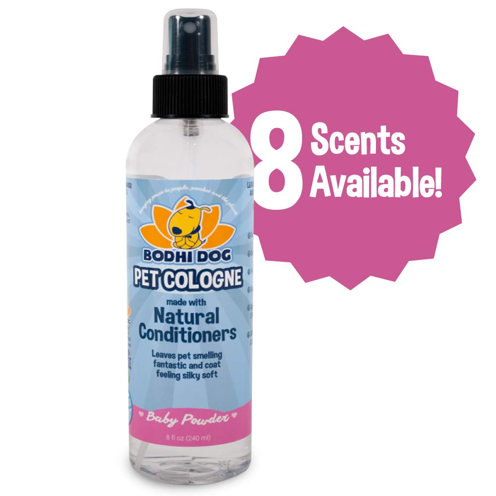 Natural Pet Cologne | Cat & Dog Deodorant and Scented Perfume Body Spray | Clean and Fresh Scent | Natural Deodorizing & Conditioning Qualities | Made in USA