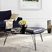 Safavieh FOX4215D Home Collection Wynton Retro Mid-Century Black Console Table