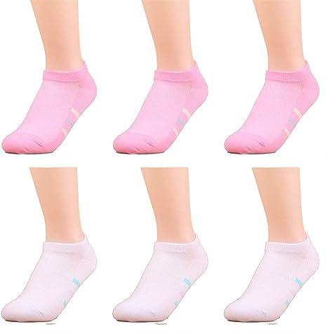 zhaoaiqin 6 pares, calcetines de los deportes de las mujeres ...
