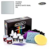 HYUNDAI Sonata/Quartz White Pearl - W8 / Color N Drive Touch UP Paint System for Paint Chips and Scratches/PRO Pack