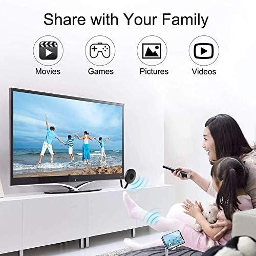 IFOR Stick De TV 2.4G HDMI Dongle WiFi Pantalla Pantalla Mirroring Web De Medios Google Chrome 1080P De Youtube Netflix: Amazon.es: Deportes y aire libre