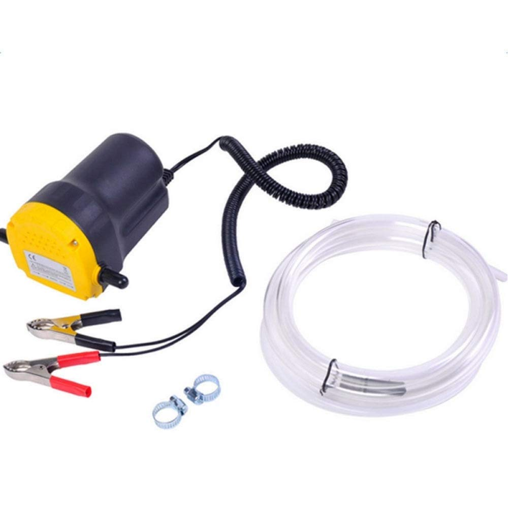 Teekland 12V 5A Fluid Oil Transfer Pump Diesel Extractor Scavenge Suction Home Use Mini Type Electric Oil Liquid Transfer Pump by Teekland (Image #4)