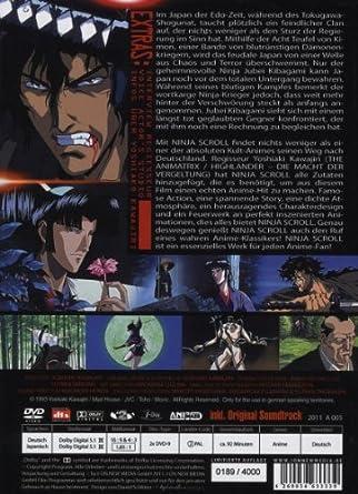 Amazon.com: Ninja Scroll - Limited Se [Import allemand ...