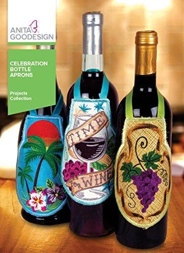 (Anita goodesign Projects Celebration Bottle Aprons PROJ93)