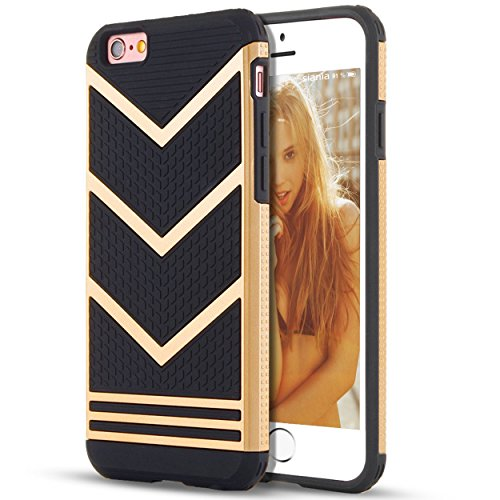 Ailun Compatible iPhone 6,iPhone Bumper,Non-Gap Stains,Protective&Stylish,Ultra Back Cover
