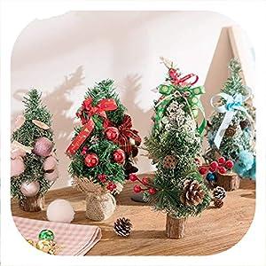 Memoirs- Artificial Mini Christmas Tree Many Style Christmas Day Decorations Home Desktop Decorative Wedding Decor 81
