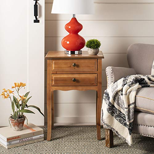 Maple Desk Country (Safavieh American Homes Collection Lori Red Maple End Table)