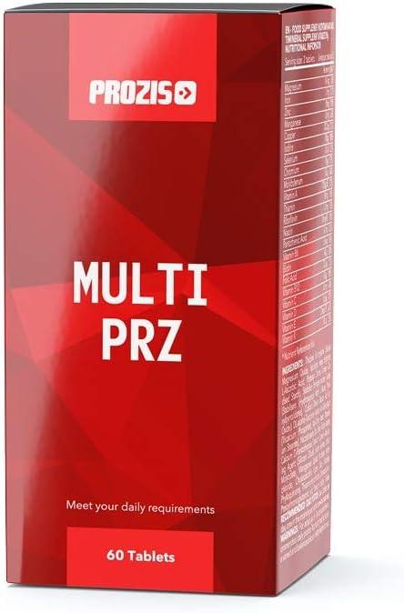 Prozis Multi PRZ - 60 Tabletas - 22 completemento vitamínico - Vitaminas y Minerales - Hombre/Mujer