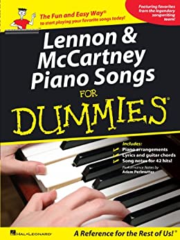 beatles piano songs for dummies pdf