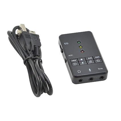 Nihlsen USC31 7.1 Canales Tarjeta de Sonido USB Externa ...