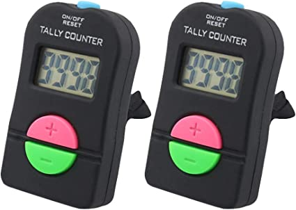 Counter Hand Kopf Counter Zähler der Tally Digital Electronic Counter Clicker