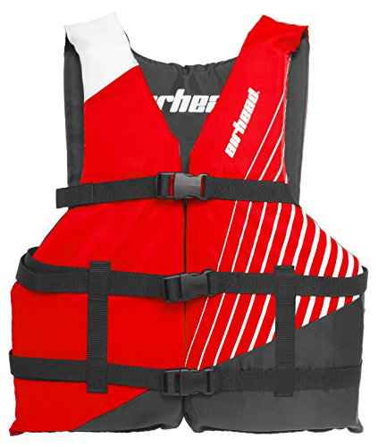 Airhead RAMP Life Vest, Youth, Red