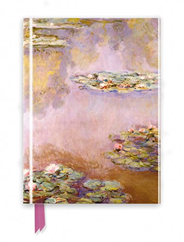 Monet: Waterlilies (Foiled Journal) (Flame Tree Notebooks) (Lily Journal)