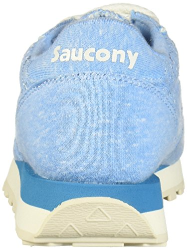 Blue Chaussures Sneakers Jazz Daim Femme Blu Light Original Beige en Baskets Saucony PqdnaP