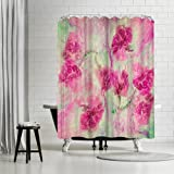 Americanflat Spring Dance Shower Curtain by Zina Zinchik, 74'' x 71'' x 0.1''