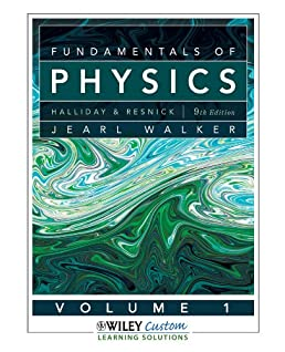 fundamentals of physics 9th edition volume 1 fundamentals of rh amazon com Physics Halliday Volume 2 Sgt. David Halliday MSP