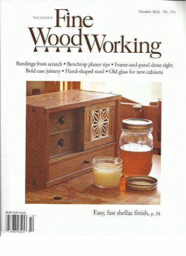 TAUNTON'S FINE WOOD WORKING, OCTOBER, 2016 ( EASY, FAST SHELLAC FINISH - Stores Taunton