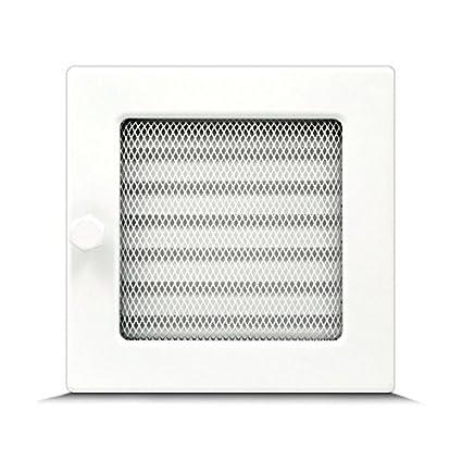 Rejilla de ventilación y de aire caliente para chimenea, diferentes tamaños,