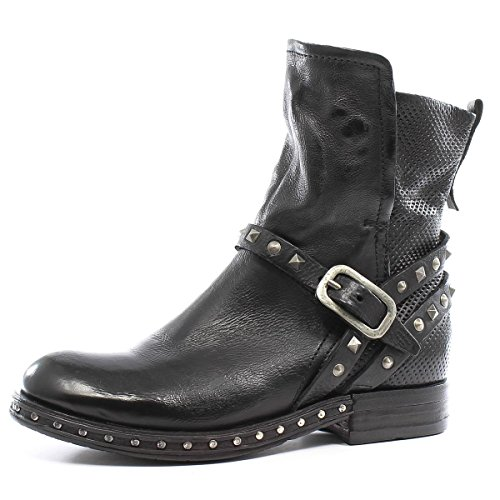 967214 98 S as98 101 Nero Stiefelette Airstep A Studs TZBHxq