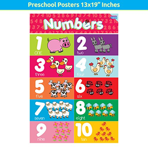 Educational Preschool Posters for Toddlers and Kids Perfect for ...