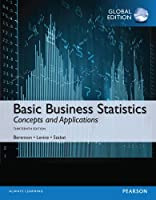 Basic Business Statistics, Global Edition, 13th Edition Front Cover