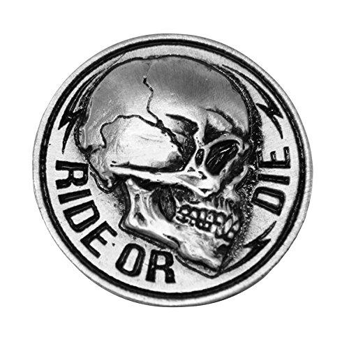 Spilla Spilla testa di morte Skull Ride Or Die AMT CUSTOM 28/PIN04