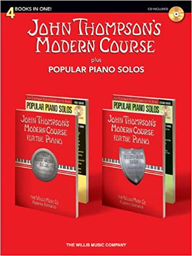 evening harmonies john thompsons students series for the piano