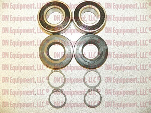 555009 King Kutter Spindle Unit Rebuild Kit, Bearings Seals Rings ()