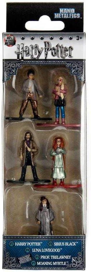 Jada- Nano MetalsFig Pack 5 Figuras Harry Potter, Multicolor (JADA99439)
