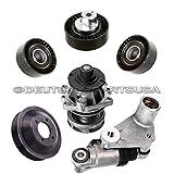 Timing Belt TENSIONER Water Pump Idler Pulley for BMW E39 E46 E53 E60 E85 Set10