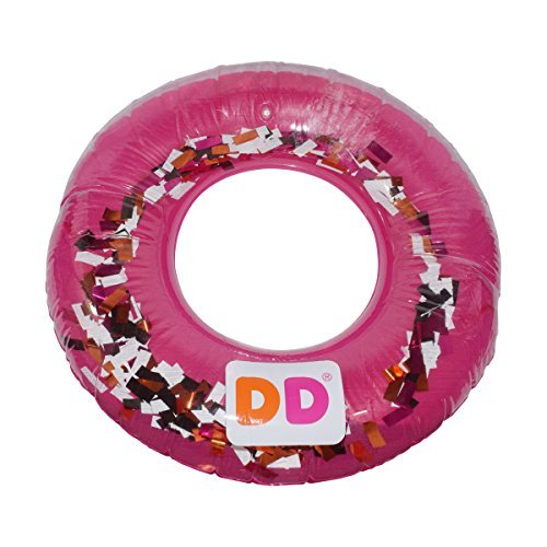 Dunkin' Donuts 30'' Inflateable Innertube (Strawberry Sprinkles, 30'') by Dunkin' Donuts