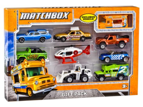 Matchbox X7111 9-Car Gift Pack (Styles May
