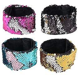 Mermaid Sequin Bracelets for Girls