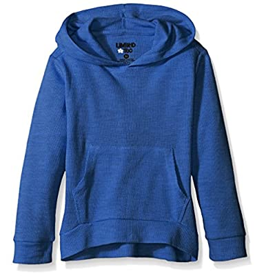 Limited Too Girls' Heathered Thermal Pullover Hoody
